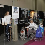 The 2012 SWS FMFF Booth at which we were joined by Pet Portraits by Bethany