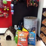 Donation Station at Barks, Bones and Biscuits Bakery!