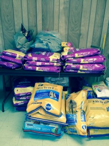 FMFF Food Delivery to Anson County Animal Shelter